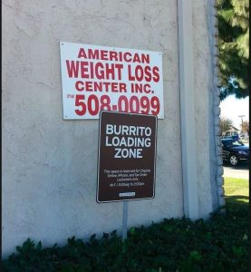 burrito loading zone