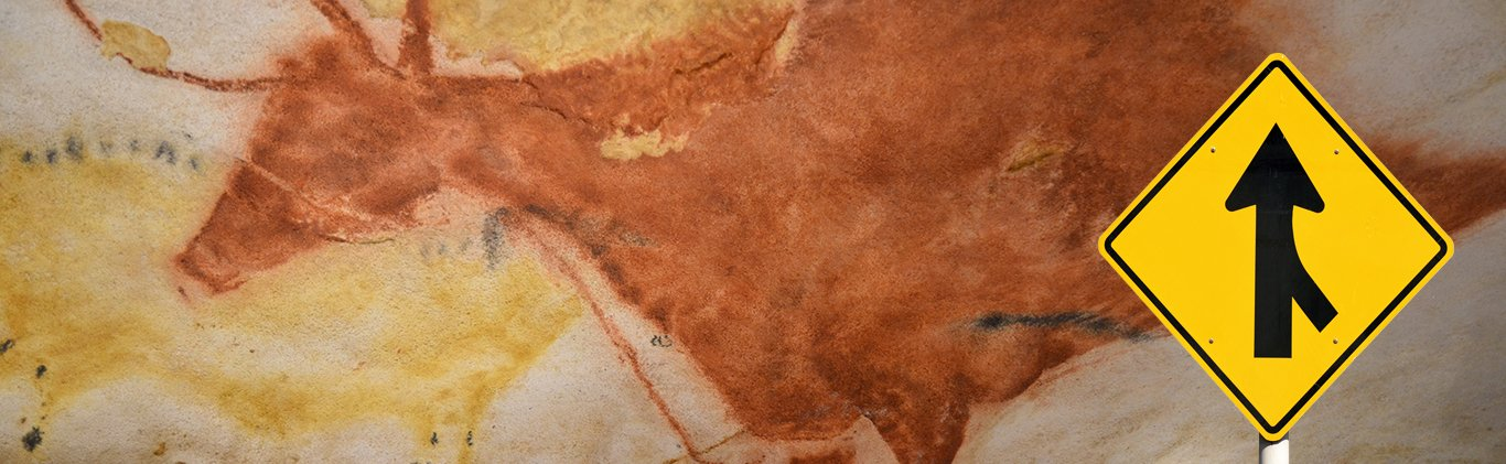 environmental graphic design cave painting