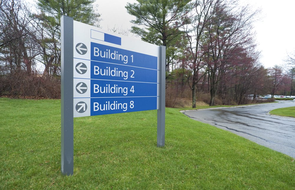 Use a Sign Standoff for Long-Term Installments
